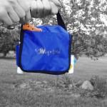 Dog bag pockets carry dog training supplies